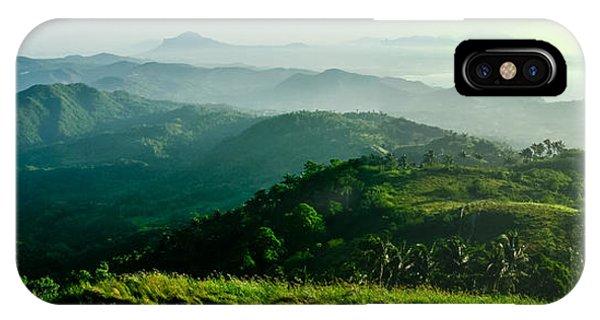 Mountaintop Panorama IPhone Case