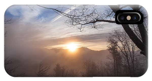 Mountaintop Sunrise IPhone Case