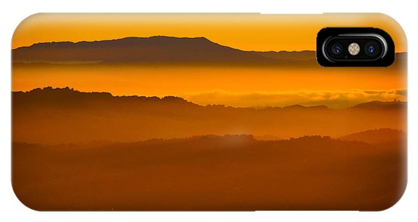 Mountaintop Sunset IPhone Case
