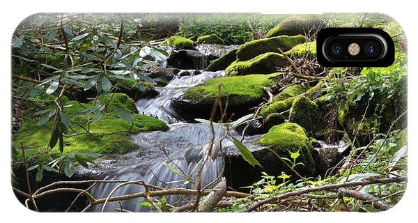 Mountian Cascade IPhone Case