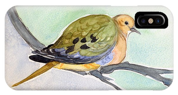 Mourning Dove IPhone Case
