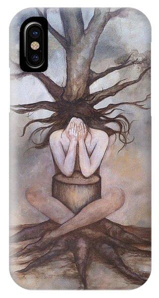 Mourning Nature Phone Case by Estela Gama