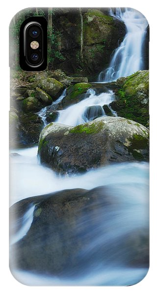 Mouse Creek Falls In Colour IPhone Case