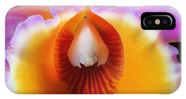 Mouth Of An Orchid IPhone Case
