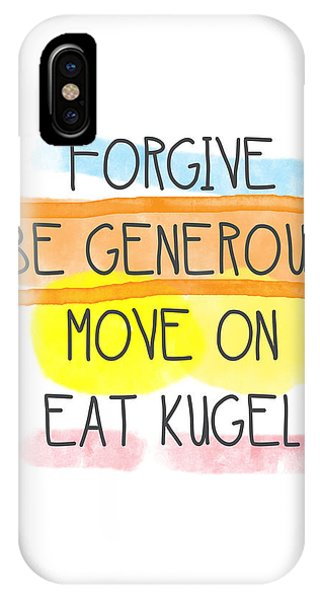 Move On And Eat Kugel IPhone Case