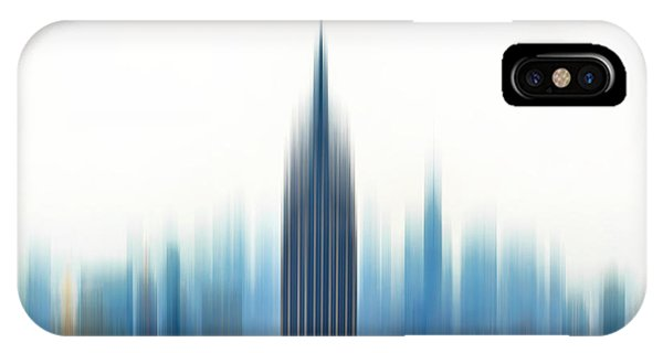 Empire State iPhone Case - Moving An Empire by Az Jackson