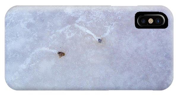 Moving Through Ice IPhone Case