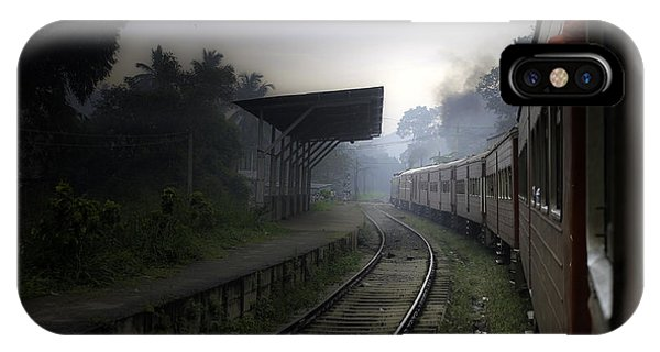 Moving Train Phone Case by Sanjeewa Marasinghe