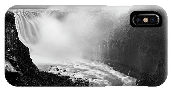 River Flow iPhone Case - Moving Water by Karsten Wrobel