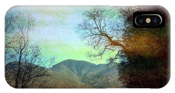 Mprints-smokey Mountain Memories IPhone Case