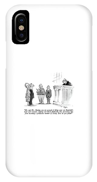 Mr. And Mrs. Dunlap IPhone Case