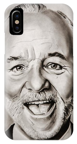 Groundhog iPhone Case - Mr Bill Murray by Brian Broadway