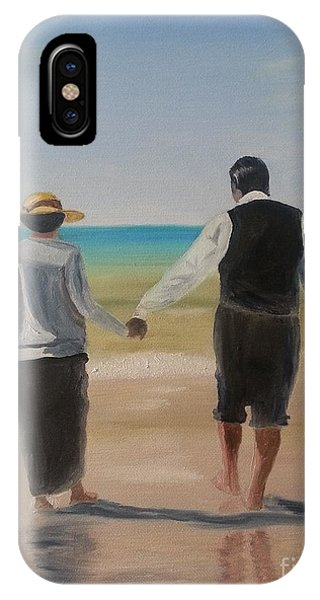 Mr. Carson And Mrs. Hughes IPhone Case