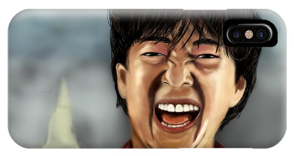 Mr. Chow Hangover Part 2 Phone Case by Mathieu Lalonde