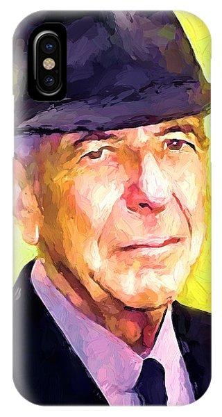 Mr. Cohen IPhone Case