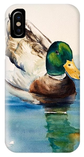 Mr Duck IPhone Case