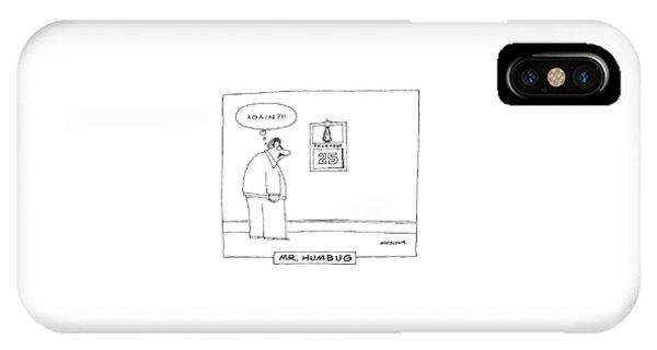'mr. Humbug' IPhone Case