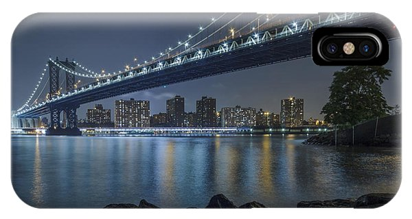 Mr Manhattan  IPhone Case