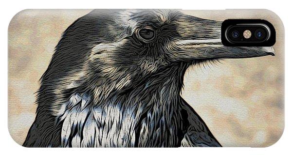 Mr. Raven IPhone Case