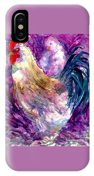 Mr. Rooster  IPhone Case