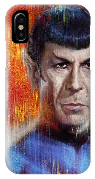 Mr Spock IPhone Case