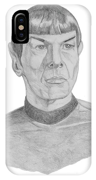 Mr. Spock IPhone Case