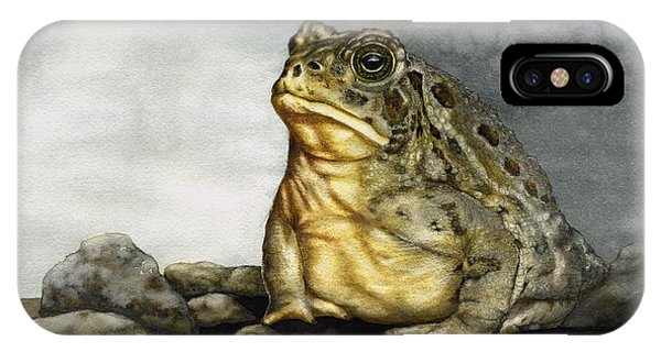 Mr. Woodhouse Toad IPhone Case