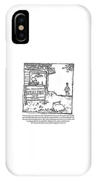 Mrs. Clearwhistle IPhone Case