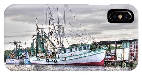 Mrs Pudgy Shrimp Docks IPhone Case
