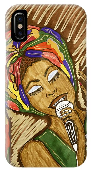 Ms. Badu IPhone Case