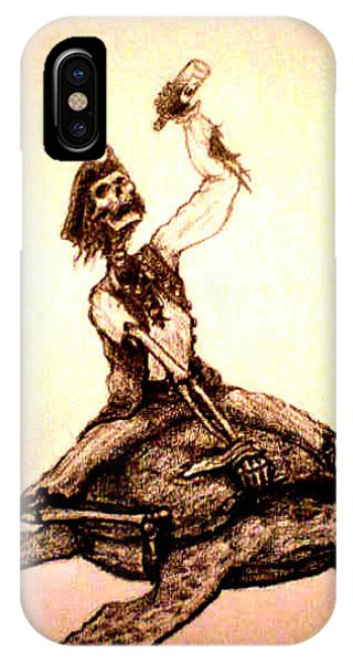 M.s. Pirate Tattoo Flash Phone Case by Steve Spagnola