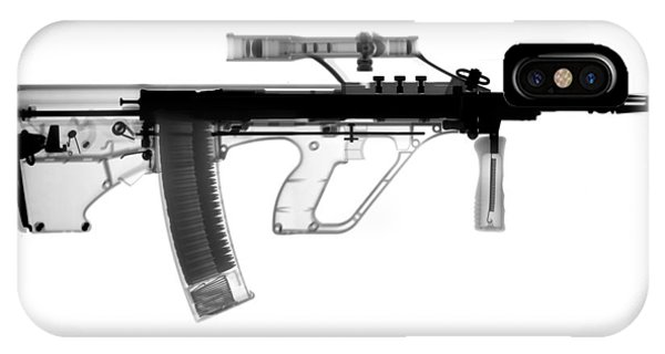 Calico M100 iPhone Case - Msar Stg-556 by Ray Gunz