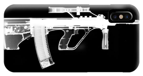 Calico M100 iPhone Case - Msar Stg-556 Reversed by Ray Gunz