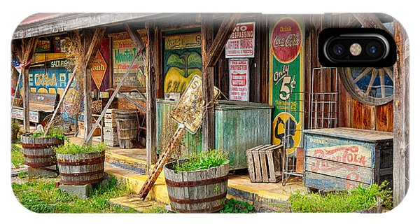 Mt. Airy Old Country Store I IPhone Case
