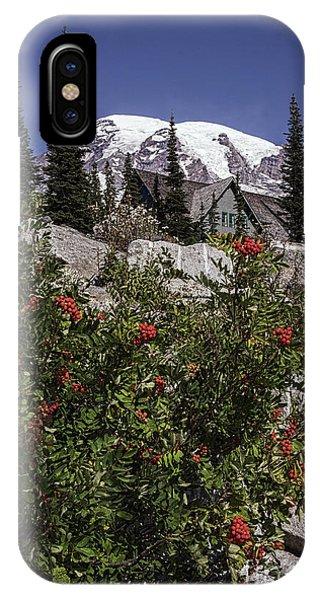 Mt Ash At Mt Rainier IPhone Case