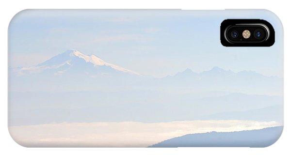Mt. Baker From San Juan Islands IPhone Case