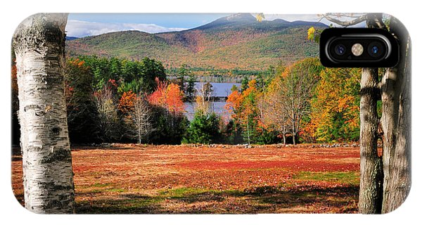 Appalachian Mountains iPhone Case - Mt Chocorua - A New Hampshire Scenic by T-S Fine Art Landscape Photography