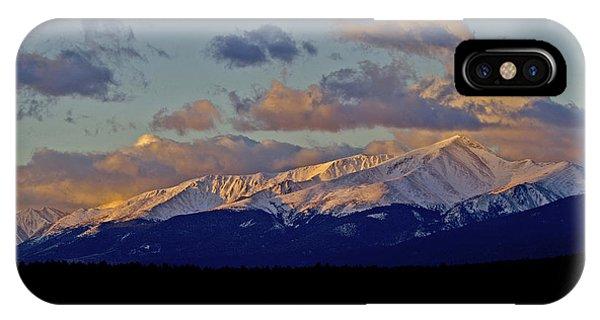 Mt Elbert Sunrise IPhone Case