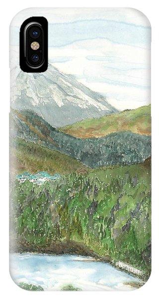 Mt. Fuji And Lake Ashi IPhone Case