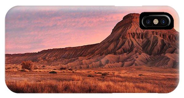 Mt Garfield Sunrise IPhone Case