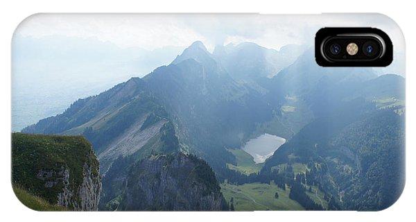 Mt. Hoher Kasten - Switzerland Phone Case by Nikki  Wang