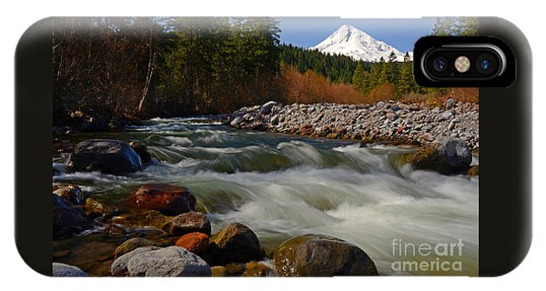 Mt. Hood Landscape IPhone Case