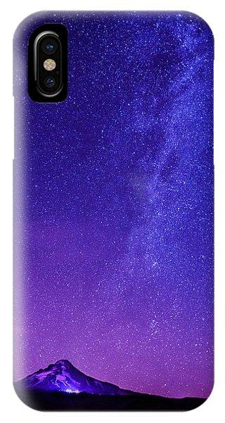 Mt. Hood Milky Way 01 IPhone Case