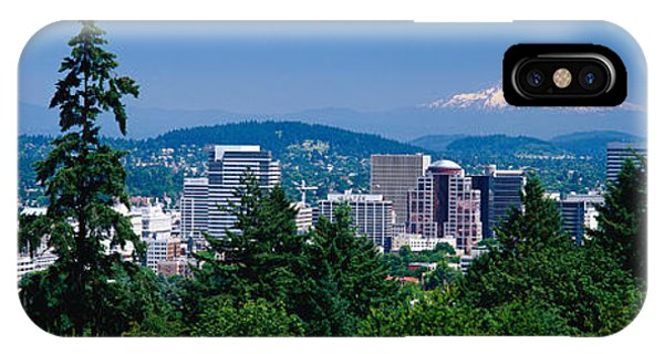 iPhone Case - Mt Hood Portland Oregon Usa by Panoramic Images