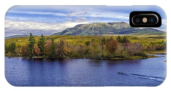 Mt Katahdin Hdr IPhone Case