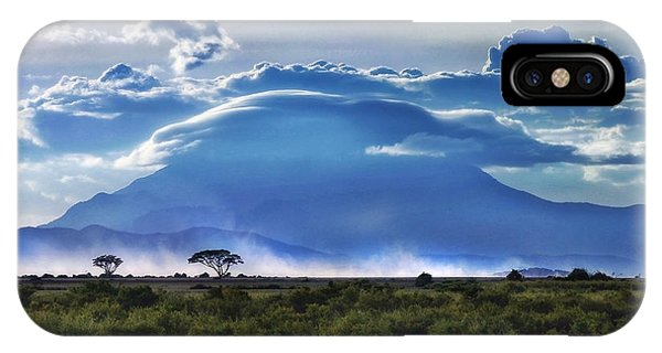 Mt Kilimanjaro IPhone Case