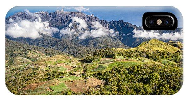 Mt. Kinabalu - The Highest Mountain In Borneo Phone Case by Veronika Polaskova
