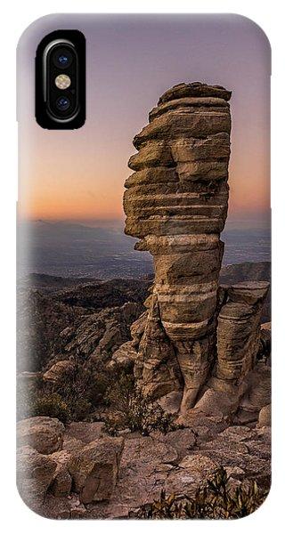 Mt. Lemmon Hoodoo IPhone Case
