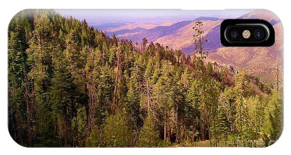 Mt. Lemmon Vista IPhone Case