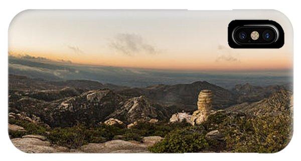 Mt. Lemmon Windy Point Panorama IPhone Case
